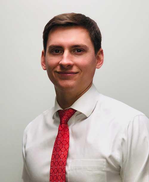 Dr. Parker DesJardins headshot